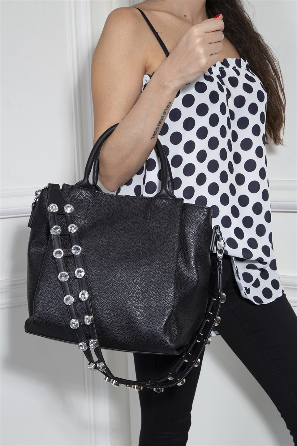 Shoulder Bag, Black
