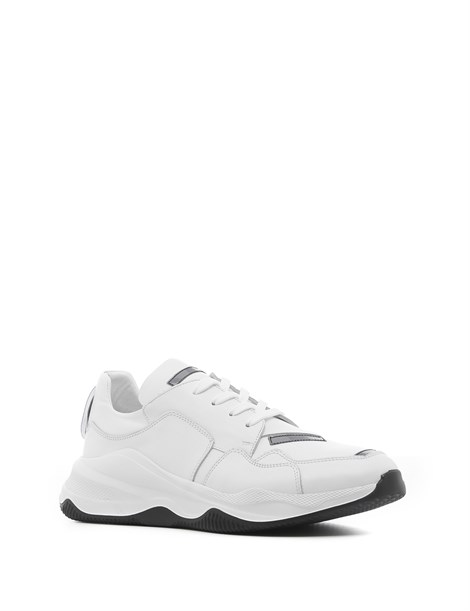 Enoch Men's Sneaker White Leather
