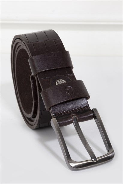 Felicity Mens Belt Brown