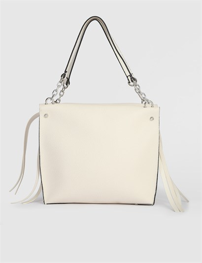Ailsa Beige Womens Shoulder Bag