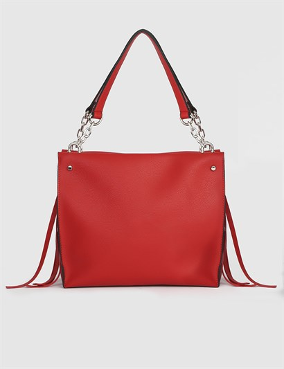 Ailsa Red Womens Shoulder Bag