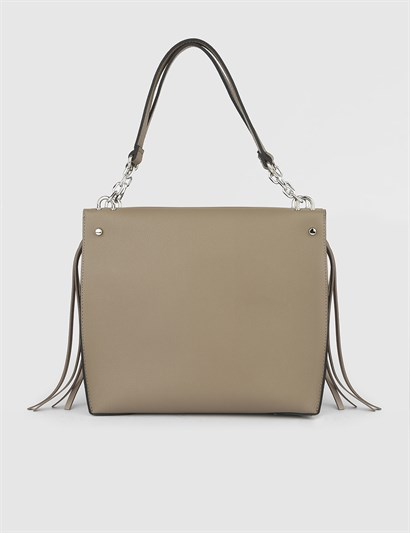 Ailsa Mink Womens Shoulder Bag