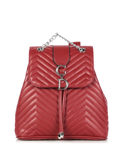 Angie Womens Backpack Red