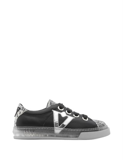 Bereza Women's Sneaker Grey Snake Leather