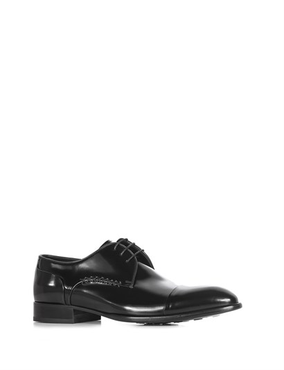 Blaks Mens Classic Shoe Black Florentic