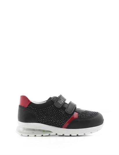 Brıa Girls Sneaker Black Leather