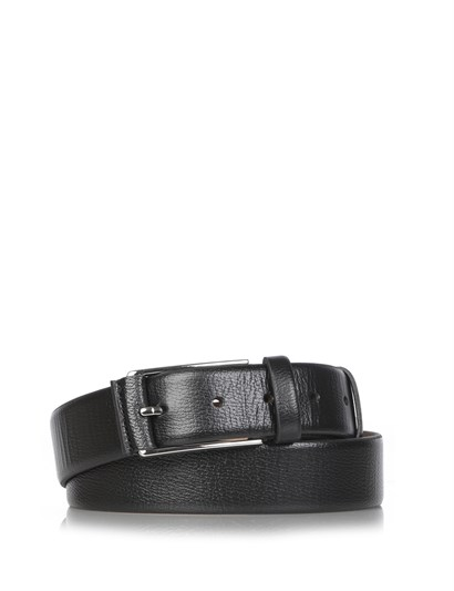 Bufal Mens Belt Black Floater