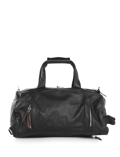 Darnley Unisex Suitcase Black Leather