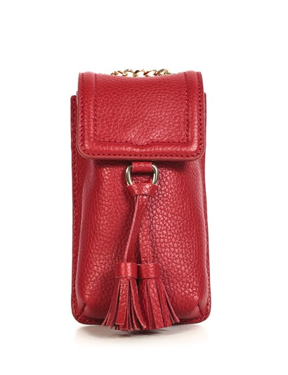 Dominic Womens Shoulder Bag Red Floater