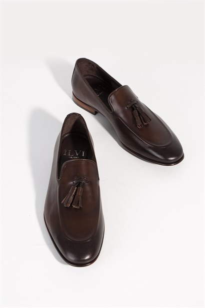 Dominic Mens Classic Shoe Brown