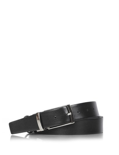 Donerlı Double-Sided Mens Belt Navy Blue