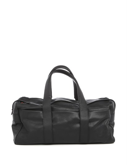 Elbert Unisex Suitcase Black Leather