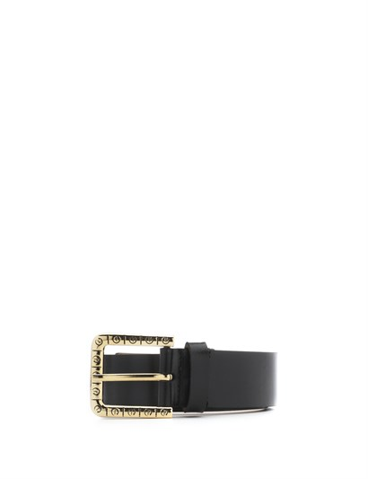 Eliz Womens Belt Black Leather