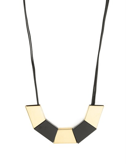 Fallon Womens Necklace Black