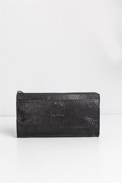 Farrell Mens Wallet Black Leather