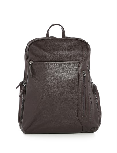 Farrell Mens Backpack Brown Leather