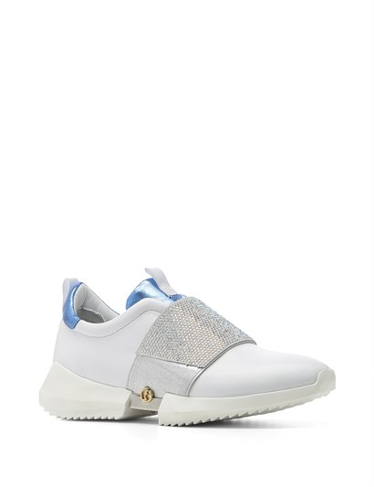 Hoho Women's Sneaker White Leather