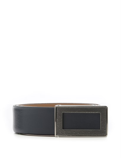 Jason Mens Belt Navy Blue