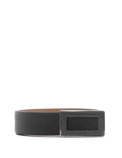Jason Mens Belt Black