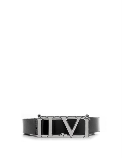 Jenna Womens Belt Black Leather