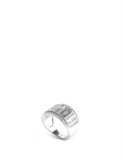 Jenna Womens Ring Silver