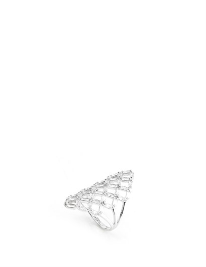 Kasey Womens Ring Silver