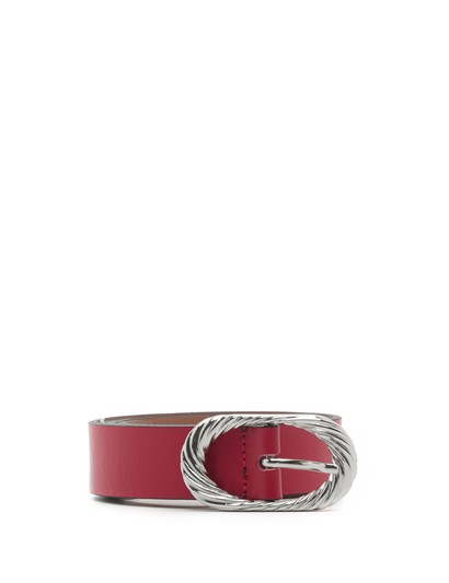 Klara Women's Belt Red Leather