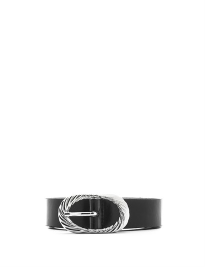 Klara Womens Belt Black Leather