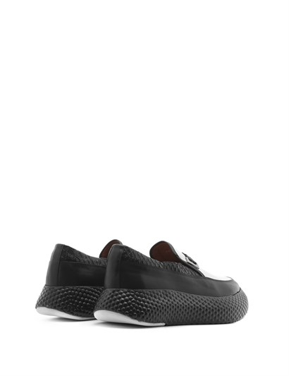 Mark Men's Sneaker Black Softy-Black Anaconda