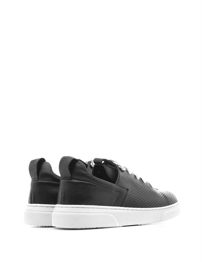 Mary Girls' Sneaker Black Leather