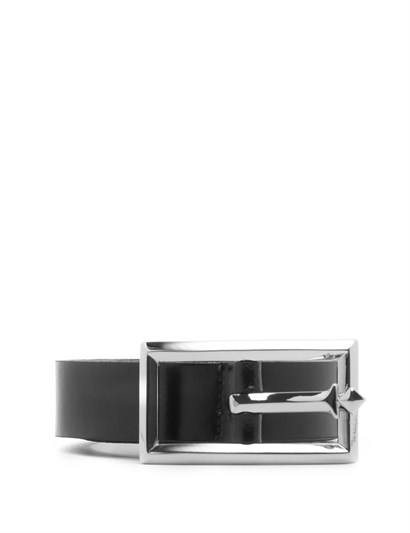 Matilda Womens Belt Black Leather