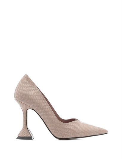 Merry Womens Stiletto Pink Leather