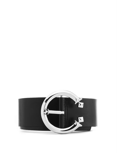 Metilda Womens Belt Black Leather
