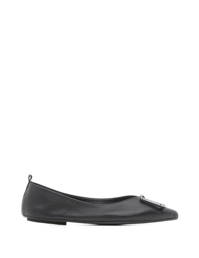 Mimo Womens Ballerina Black Floater