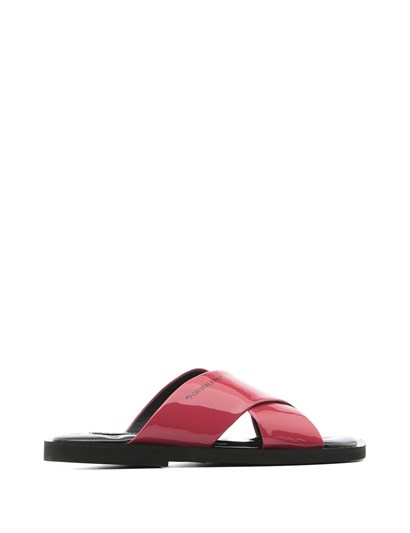 Mira Women's Slipper Fuchsia Patent Leather