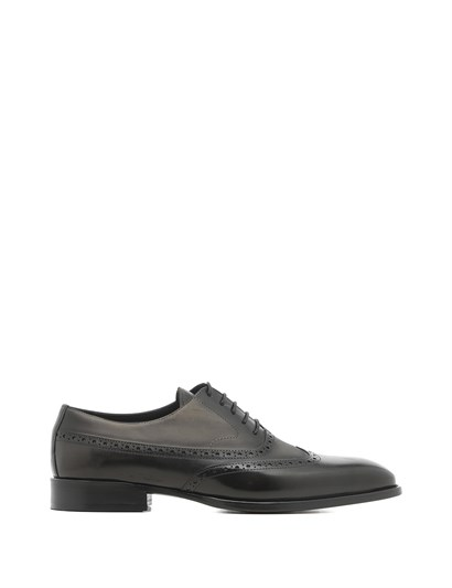 Odetta Mens Classic Shoe Grey Crust