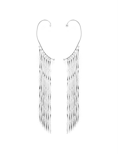Regina Womens Earrings Silver