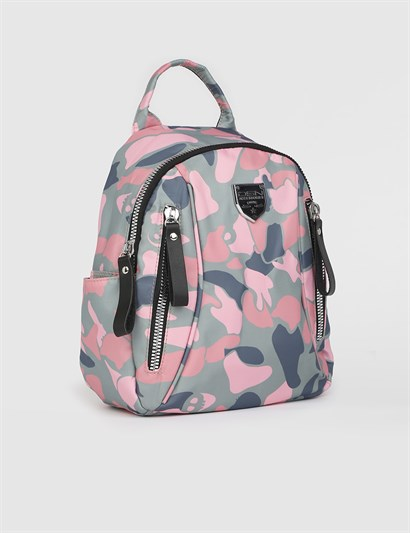 Rolf Pink Womens Backpack