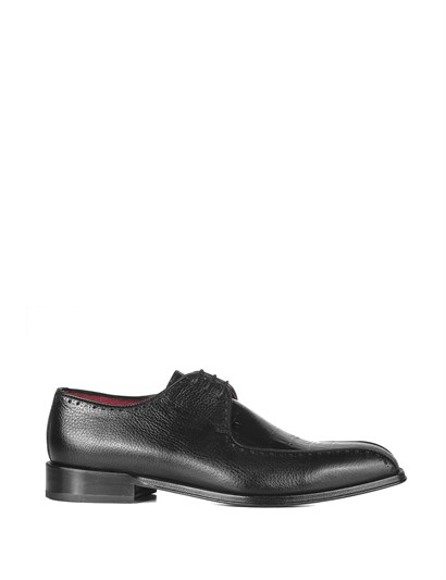 Rouge Mens Classic Shoe Black Floater