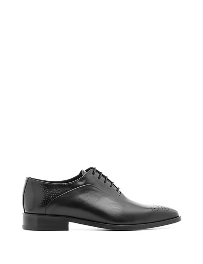 Ruzanna Mens Classic Shoe Black Antique