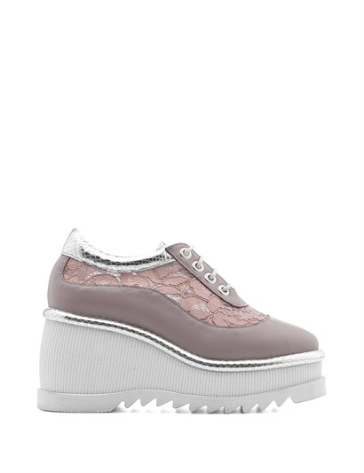Septer Womens Sneaker Powder Pink Silver