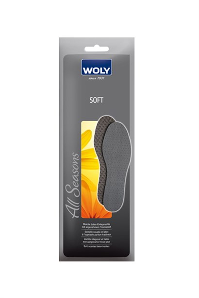 Soft Womens Insoles Black