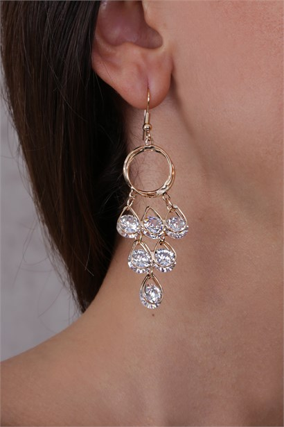 Theis Womens Earrings Gold