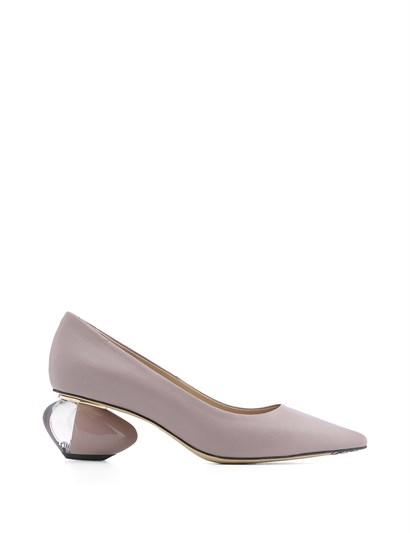 Ursula Womens Pump Light Lilac Leather