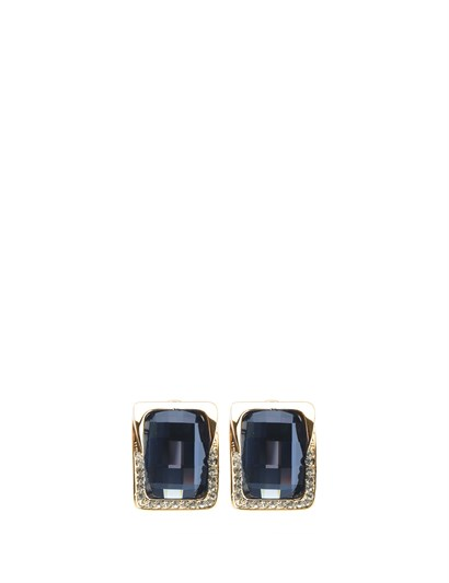 Valencia Womens Earrings Navy Blue